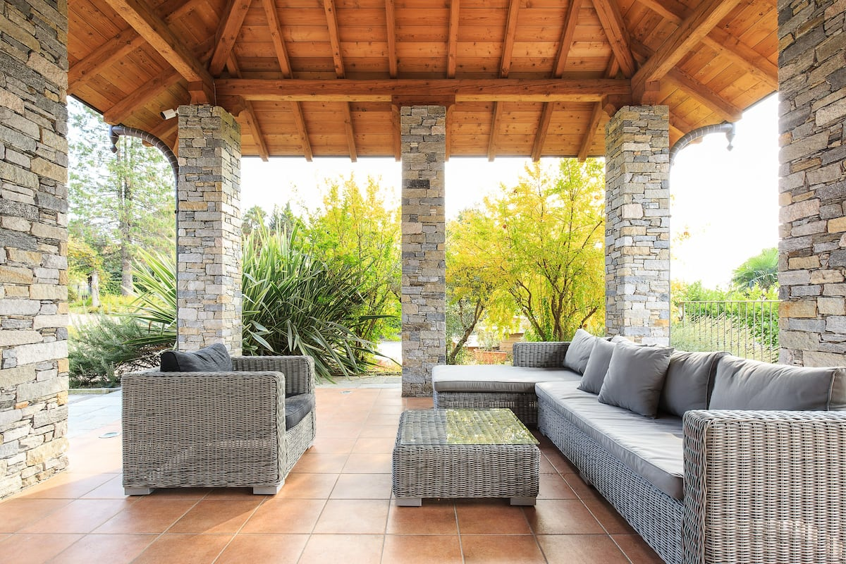 Opulent Architectural Villa with Private Sauna
