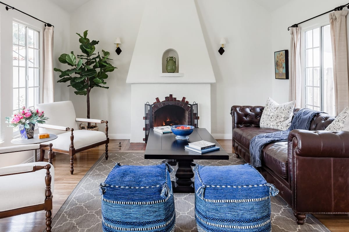 Roomy and Renovated Spanish-Style House in Glendale
