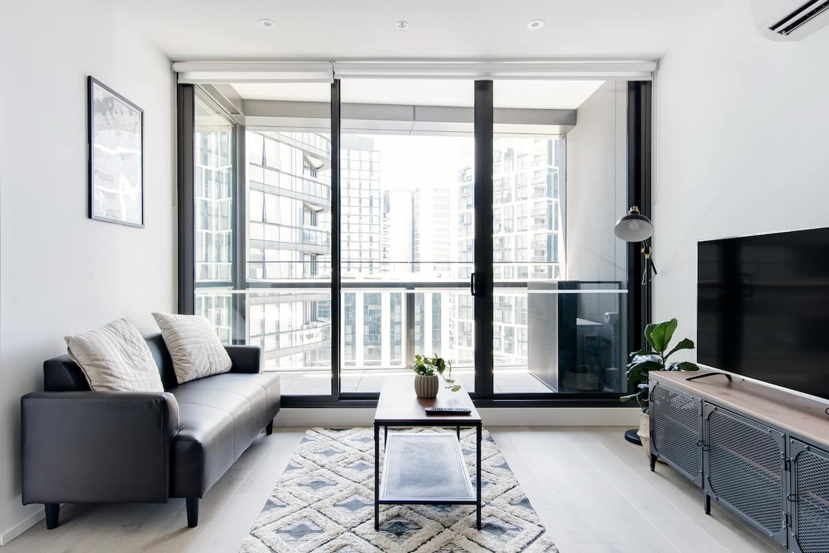 Docklands Sanctuary Designer Apt with amazing view