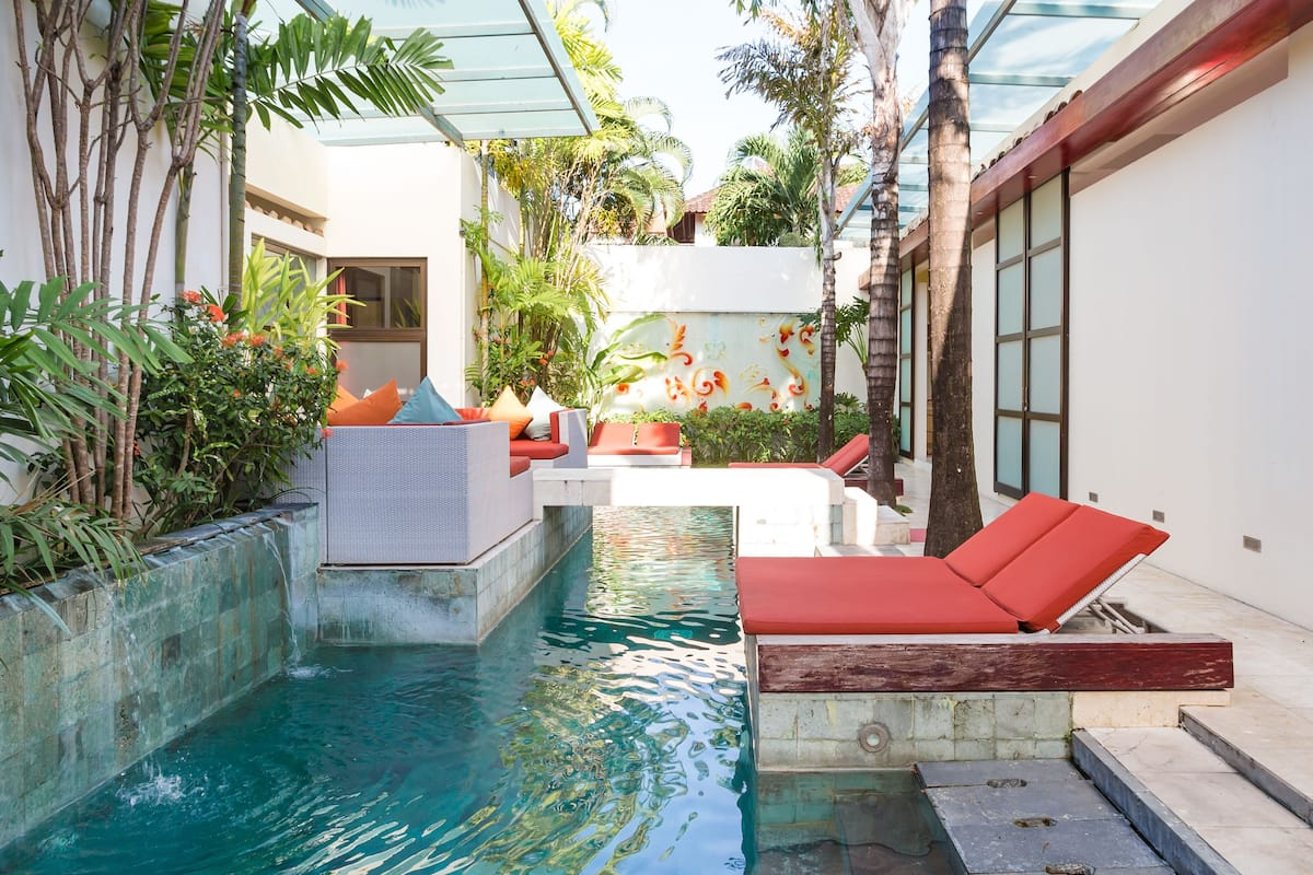 Head to Seminyak Beach from a Luxury Balinese Getaway