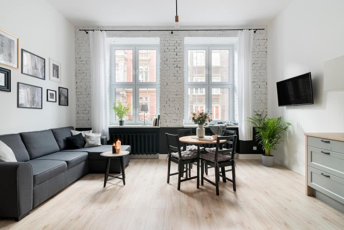 Light-Filled Apartment in the Heart of Gdansk's Old Town