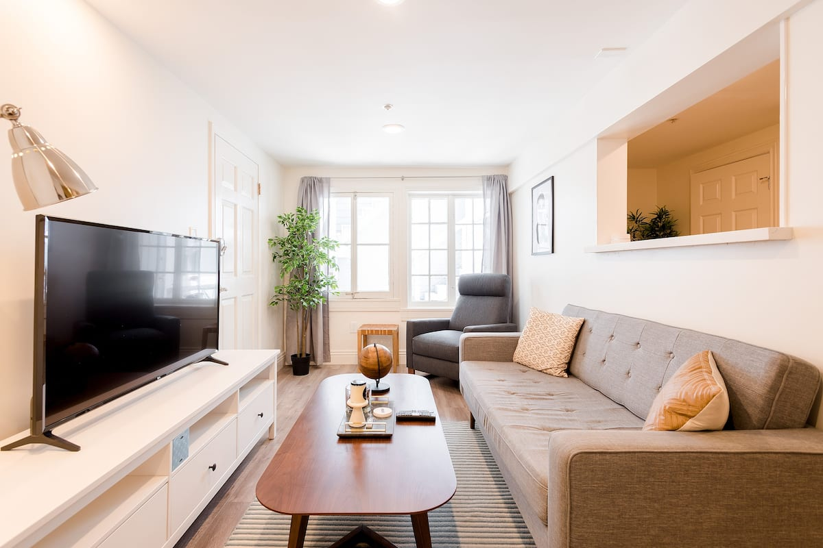 Walk to the Park from a Sunny, Stylish Home