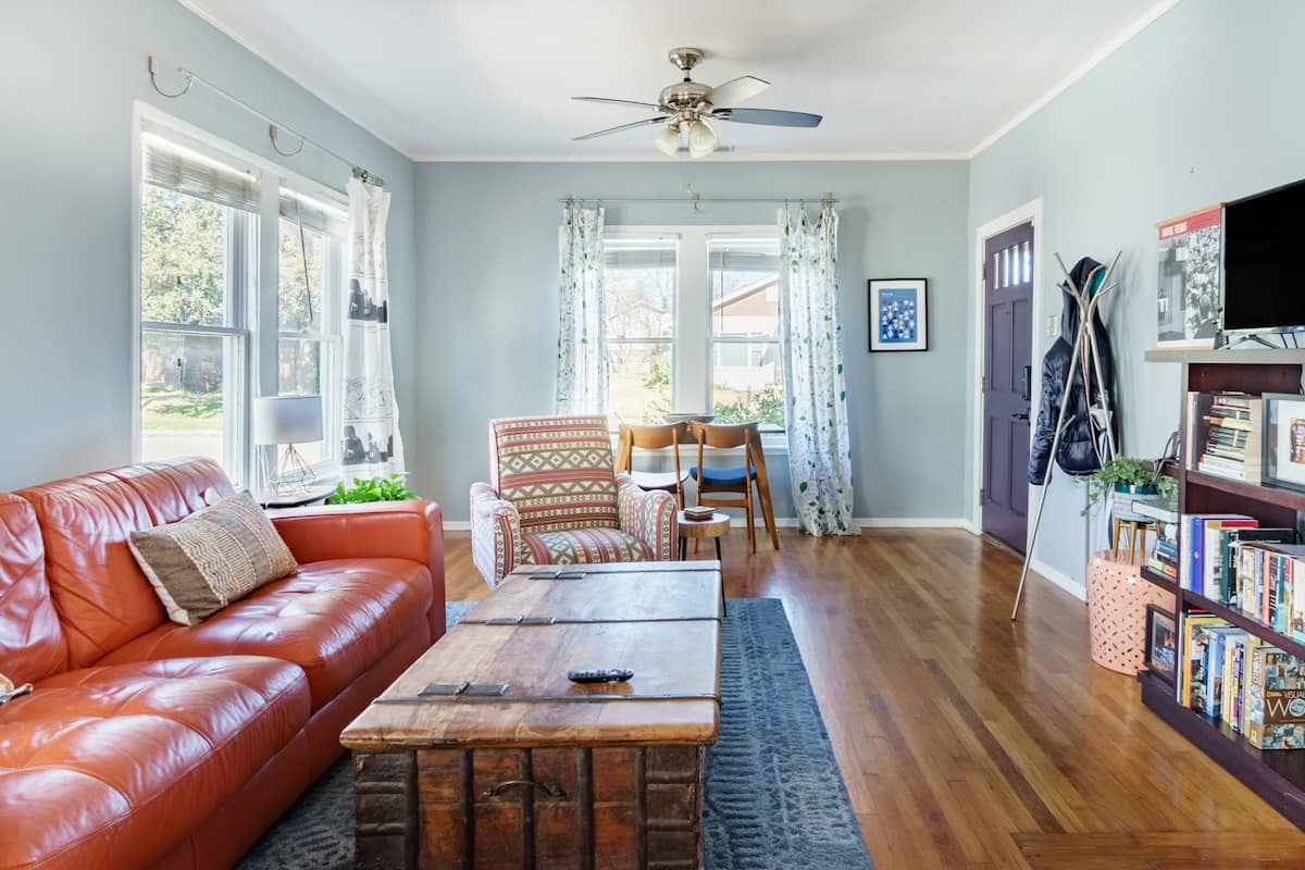 Retreat to a Stylish 1920s Lower Greenville Bungalow