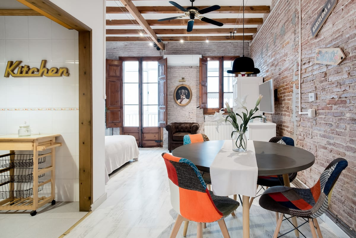 Redeveloped Historic Apartment with Balcony