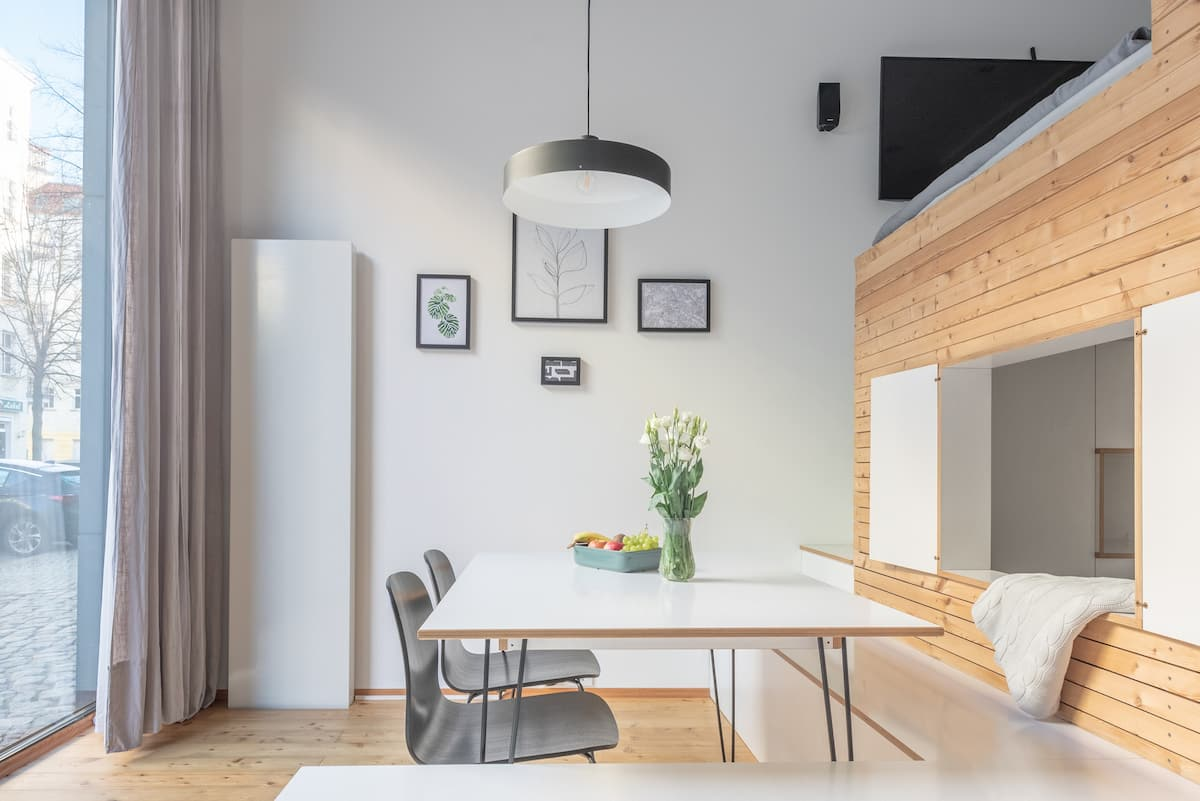 Smart and Efficient Designer's Apartment in Central Berlin
