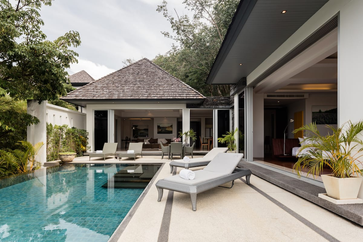Layan Sea View Villa with Elevator and Pool