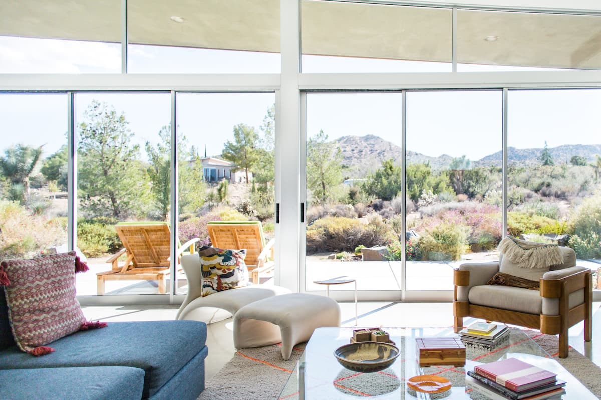 Wonder Walls an Architectural Home Overlooking Joshua Tree