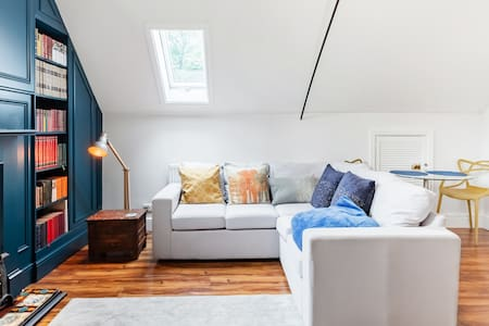 Curl up Under the Skylight at a Former Victorian Hayloft