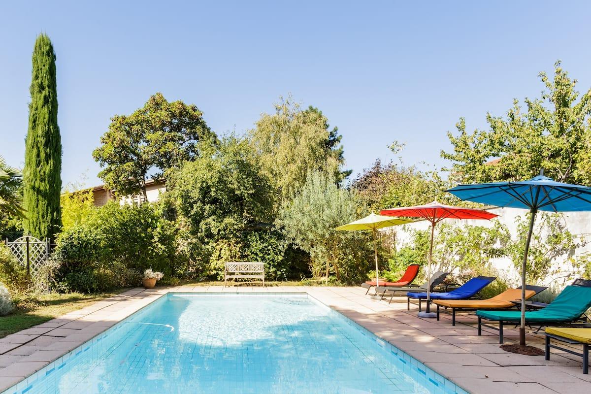 Maison de vacances avec piscine et Jardin dans Lyon à La Croix Rousse