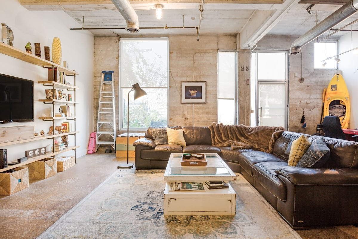 Walk to All the Sights from This Hip Historic Loft
