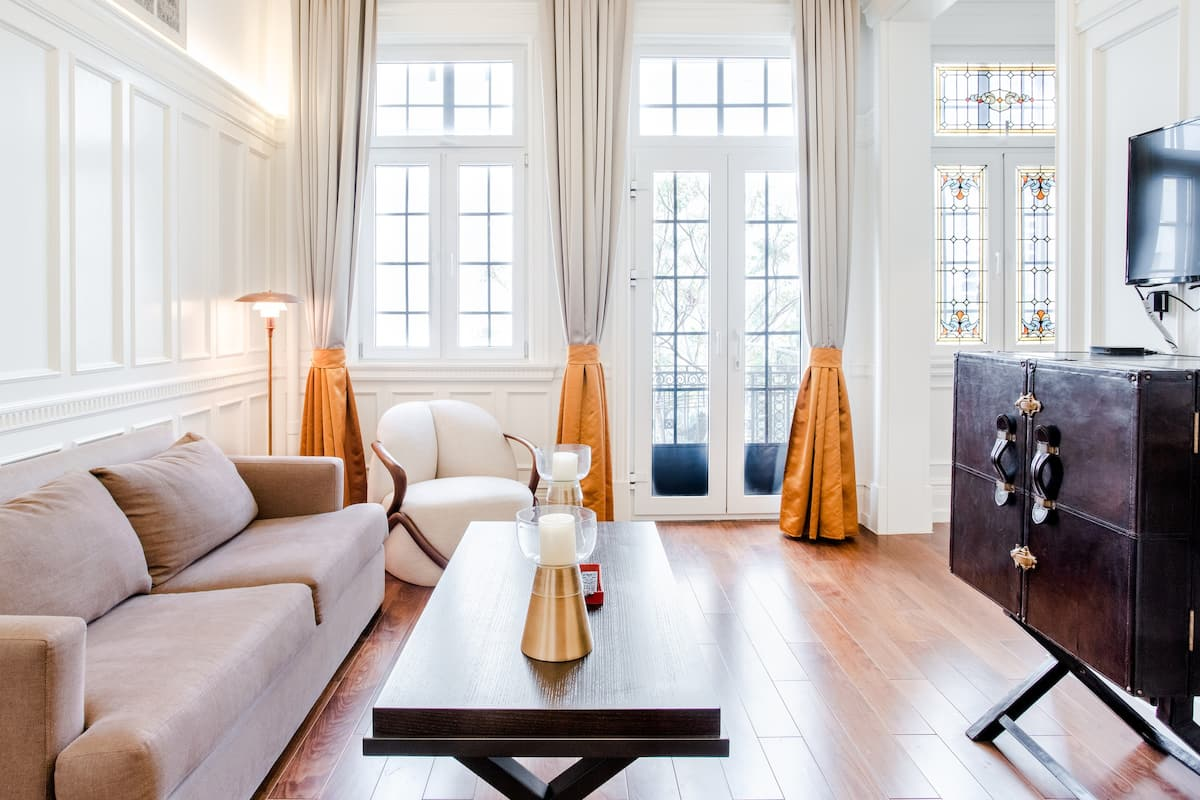 入住欧式公寓,体验老上海风情