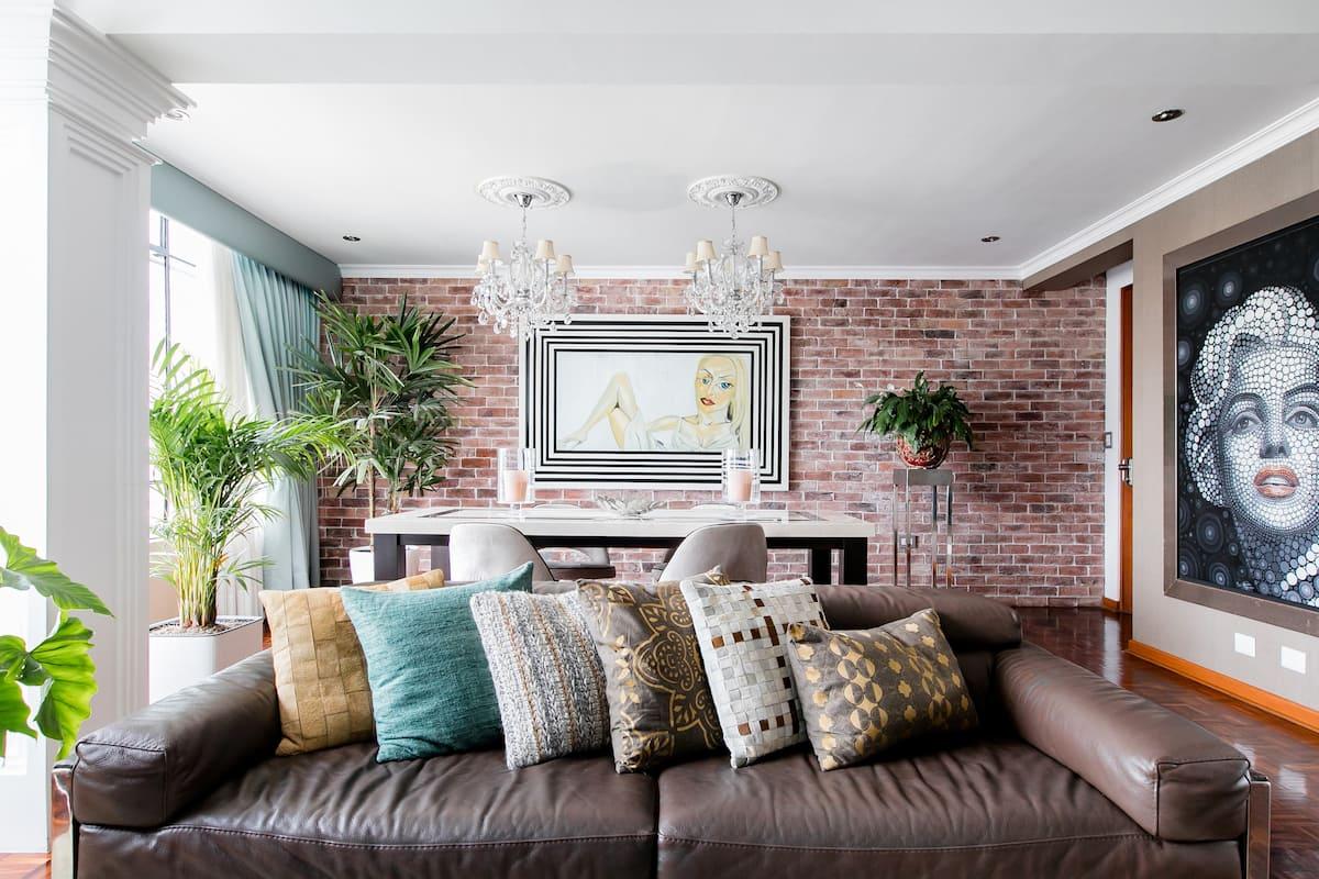 Habitación Privada - Clase y Estilo, en un cómodo departamento en Miraflores