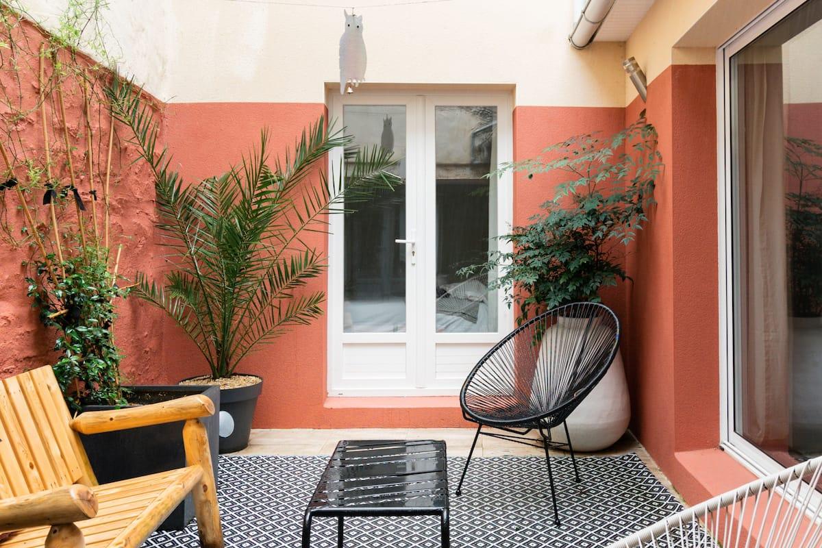 Appartement avec patio à deux pas de la plage et du centre de Concarneau