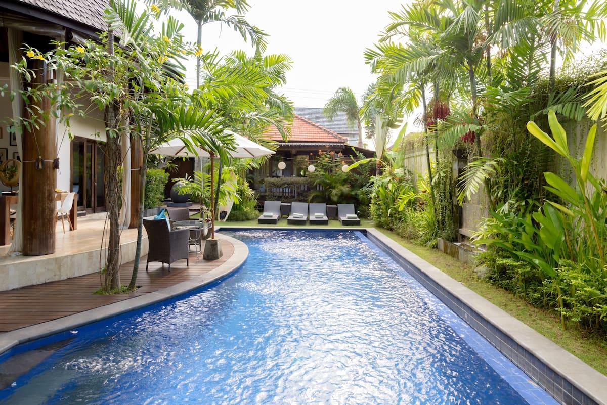 Chambre dans Villa Canggu avec Jardin et Piscine