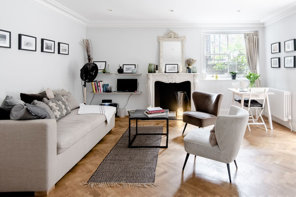 Exquisite Notting Hill Garden Apartment
