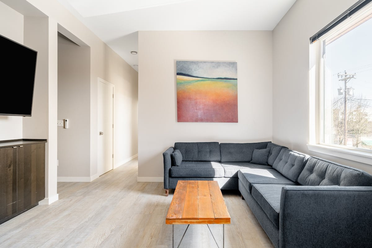 Explore Portland From a Stylish 4 Bedroom Home