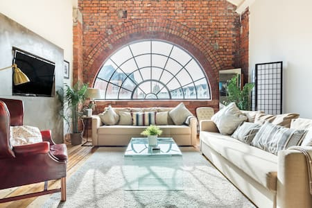 Chic Loft Apartment in the Heart of Cardiff