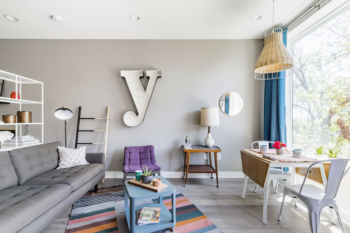 Condo Comfort Meets East-Side Vibes in Eco-Friendly Building