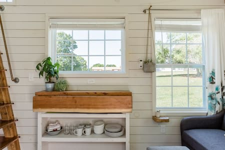 Retreat to a Charming Tiny House in the Countryside