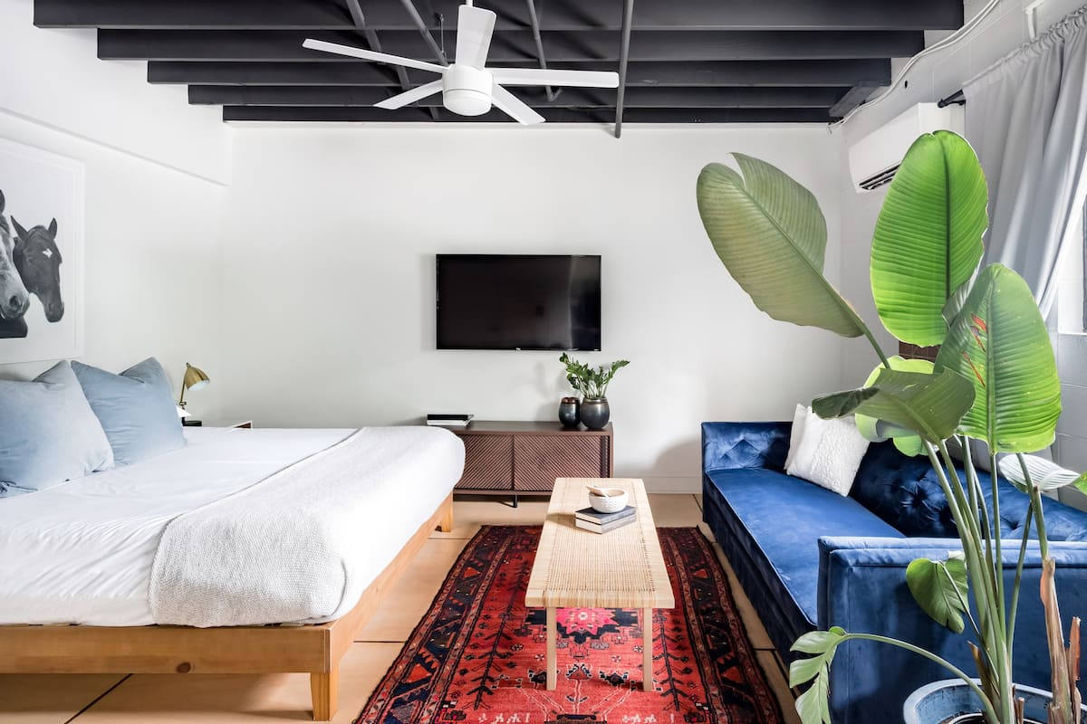 Admire the Chic Style of a Sunny Studio in the Arts District