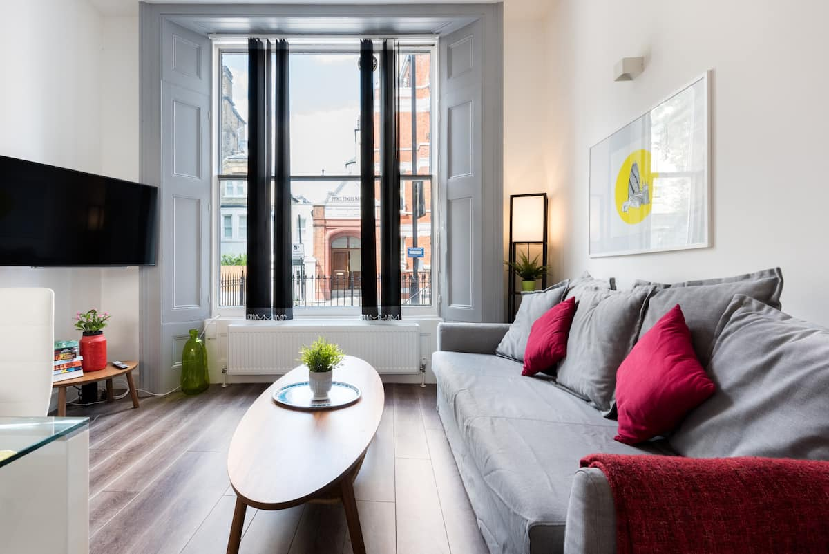 (m03) Bright Notting Hill Apartment Near Portobello Road