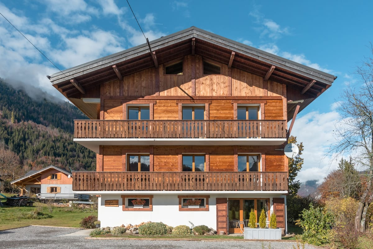 Breathe in the Alpine Air at a Chalet with Panoramic Views