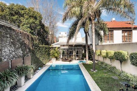 Amazing Eclectic Villa with Backyard Pool
