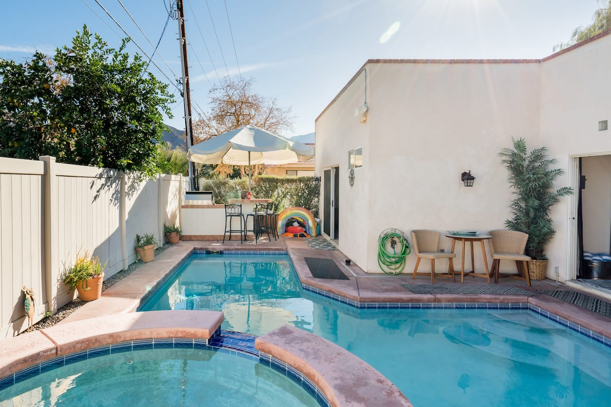 Adobe-Style Home with Pool and Spa Near Old Town La Quinta