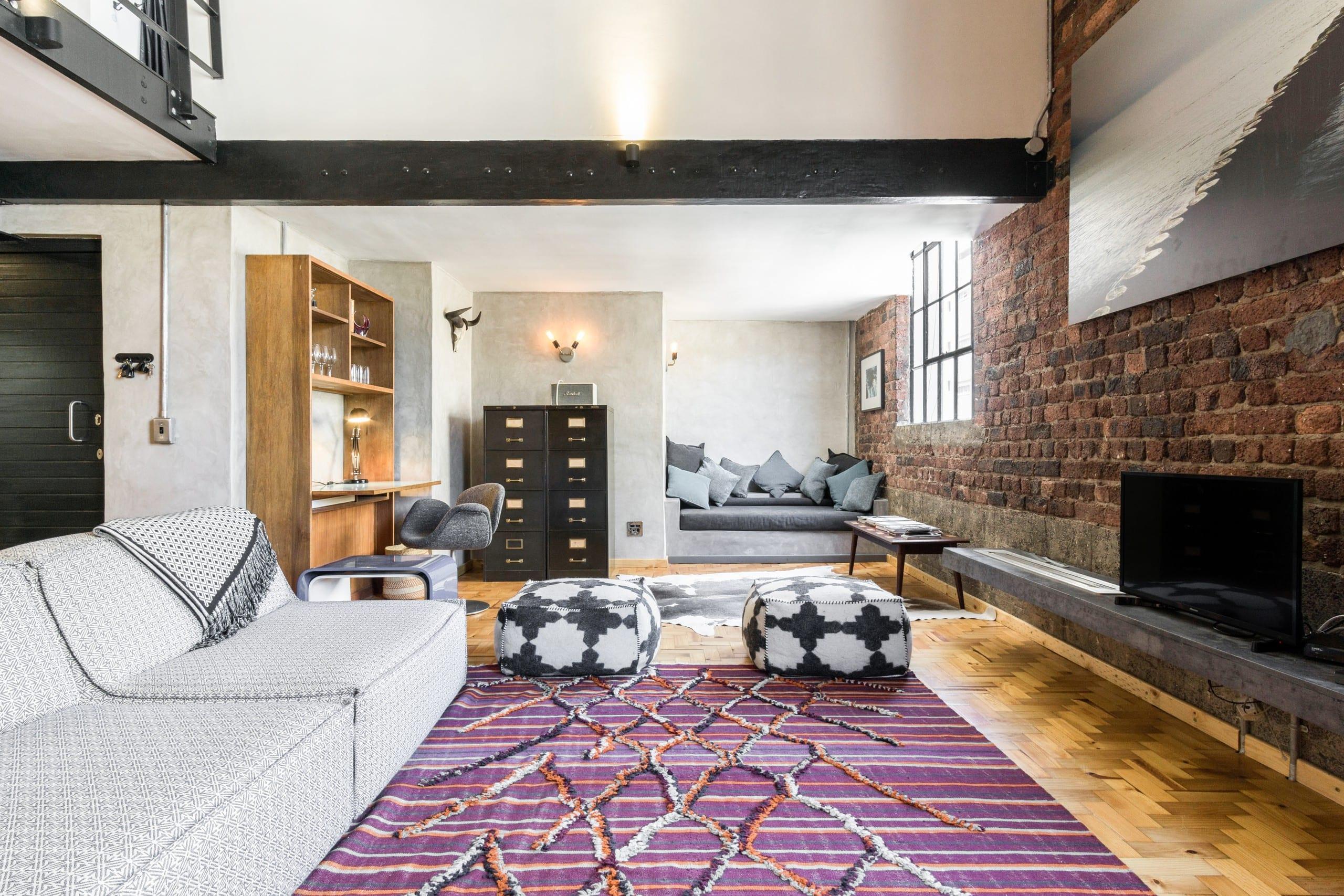 New York Style Loft Apartment in Cape Town City Center - Lofts zur ...