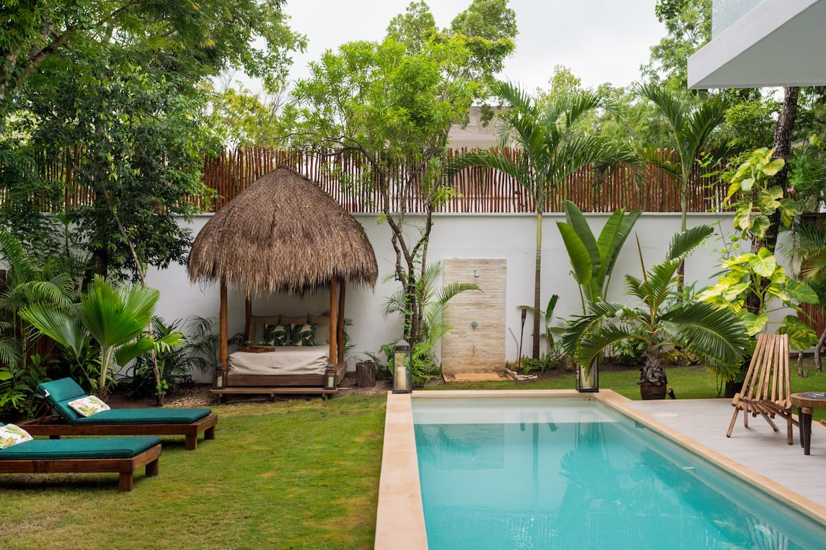 Hermosa Villa con alberca privada en el corazón de Tulum