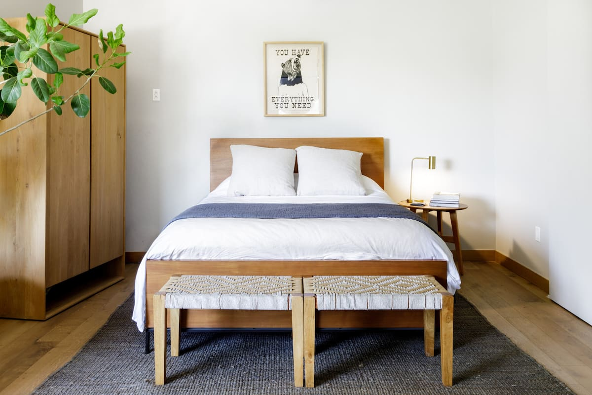 Bohemian Vibes at a Minimal Pad in the Hills of Silver Lake