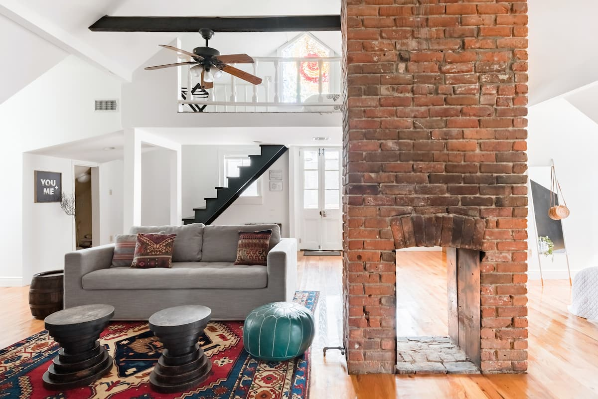 Take in the Historic Charm at a Luminous Marigny Loft