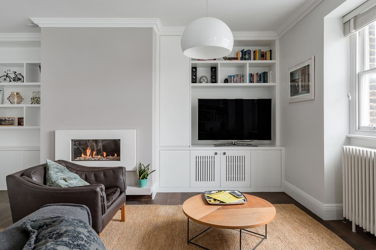 Georgian Living at an Apartment in the Heart of Clerkenwell