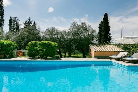 Villa Nautilus in Corfu Heartland Near Aqualand Waterpark