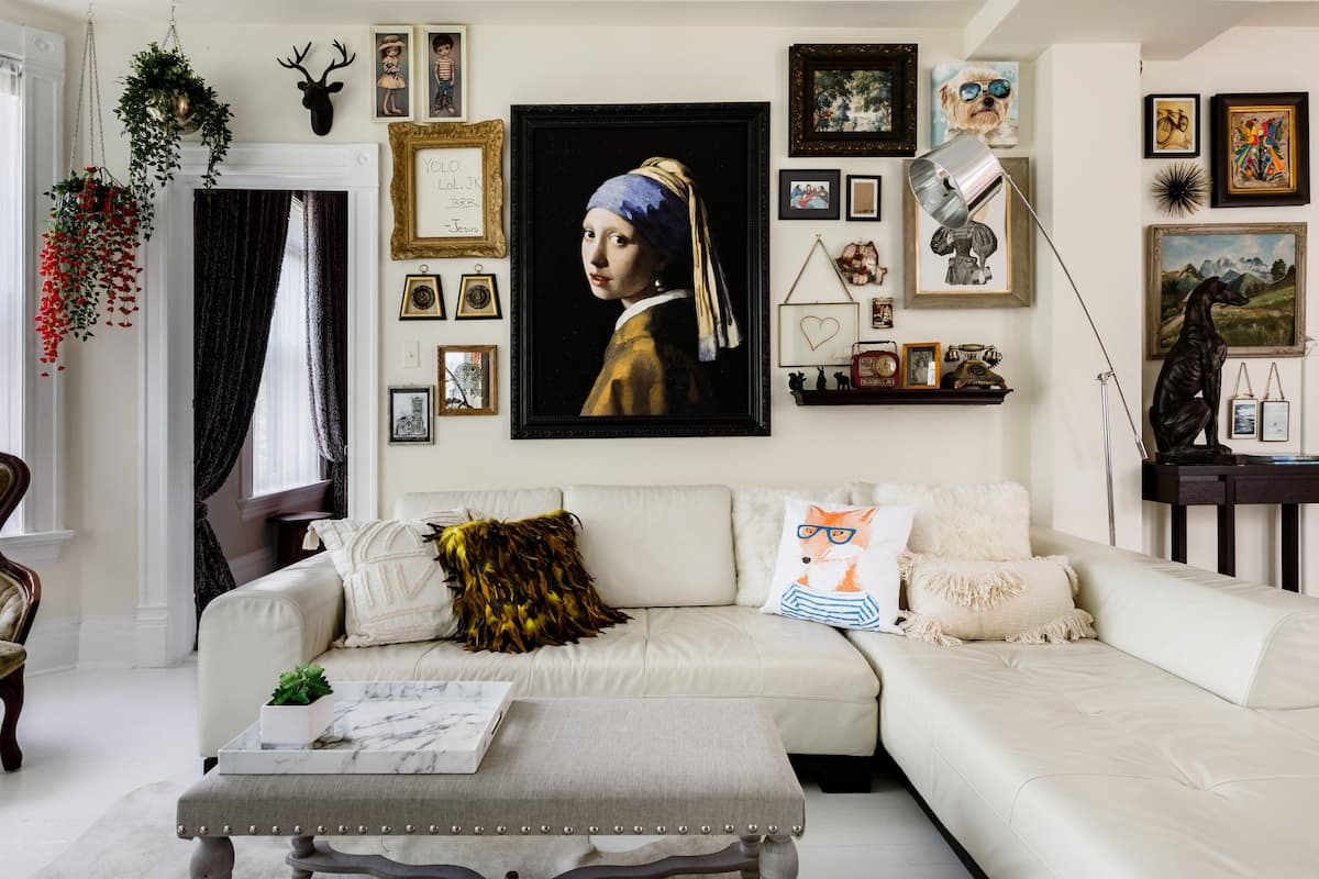 Curated Art Apartment in Ukrainian Village