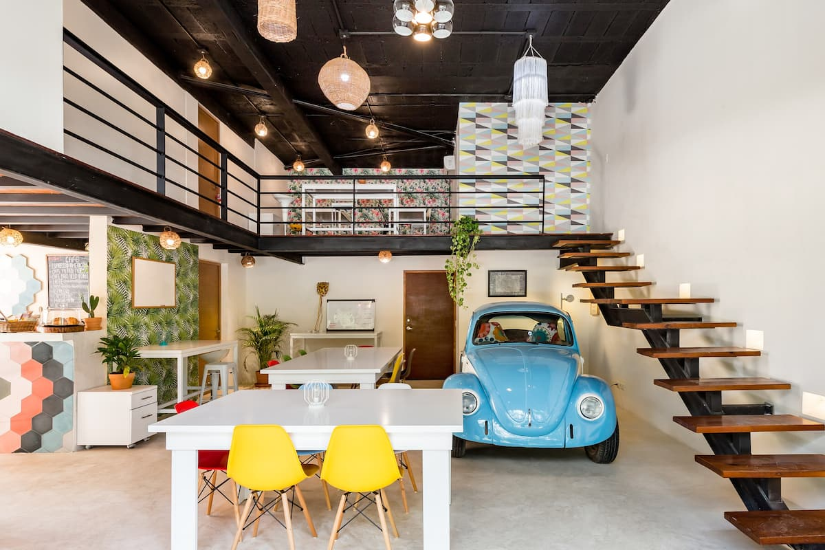 Quirky, Colorful Penthouse with a Rooftop Infinity Pool