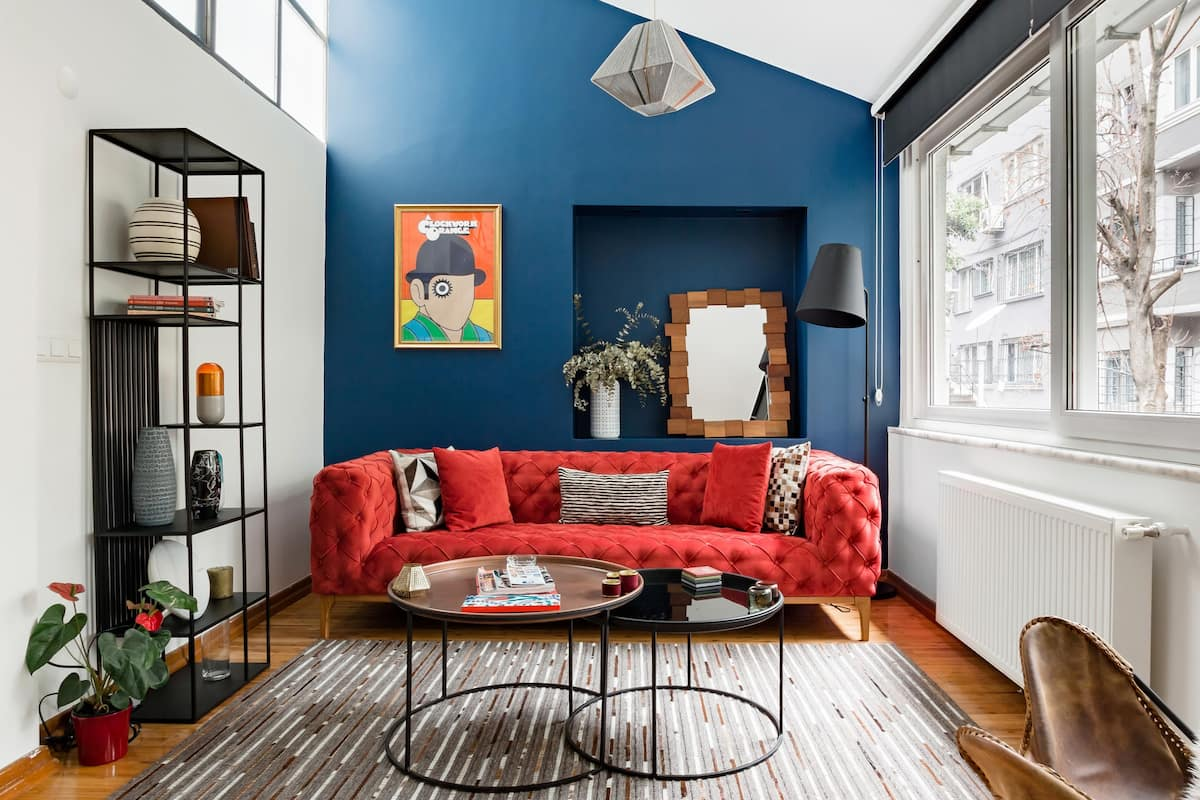 Colorful and Artistic Loft Close to Taksim Square