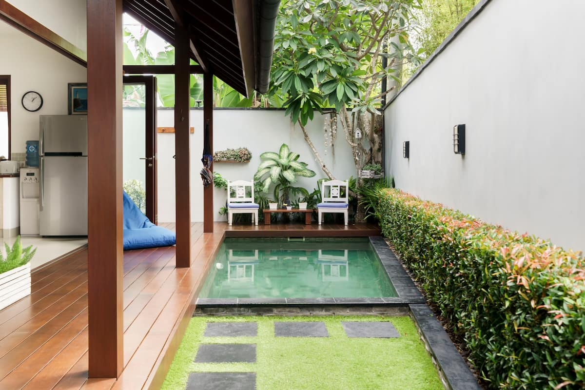 Secluded Villa with a Soothing Pool and Fish Ponds/Seminyak
