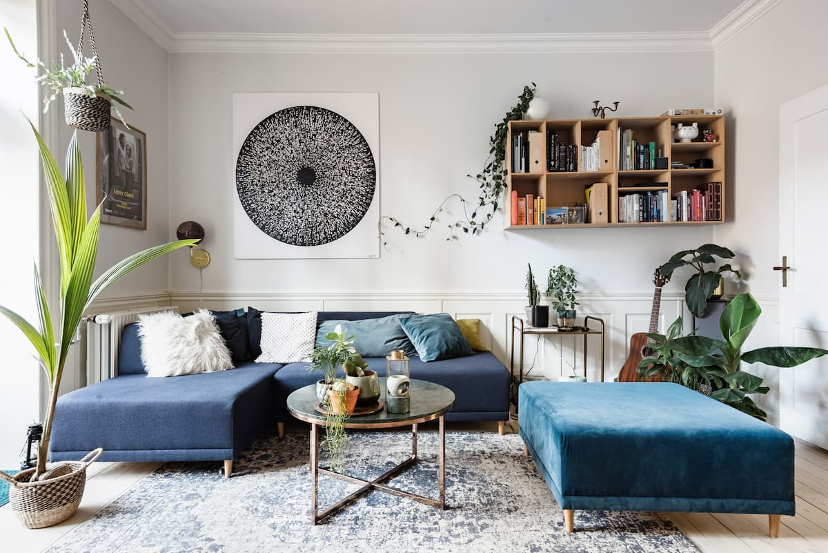 Relaxed Boho-Vibe Apartment the Embodiment of Hygge