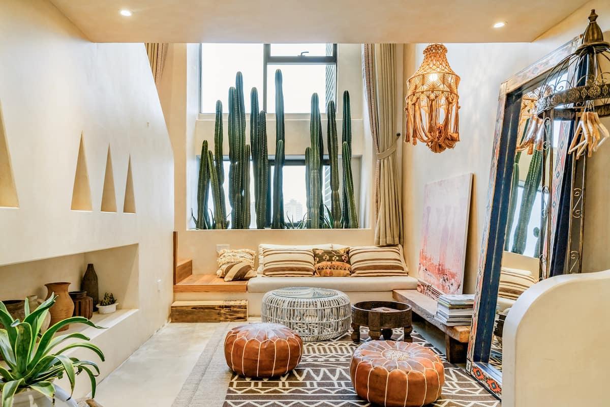 在兮弥-撒哈拉公寓,体验摩洛哥风情
