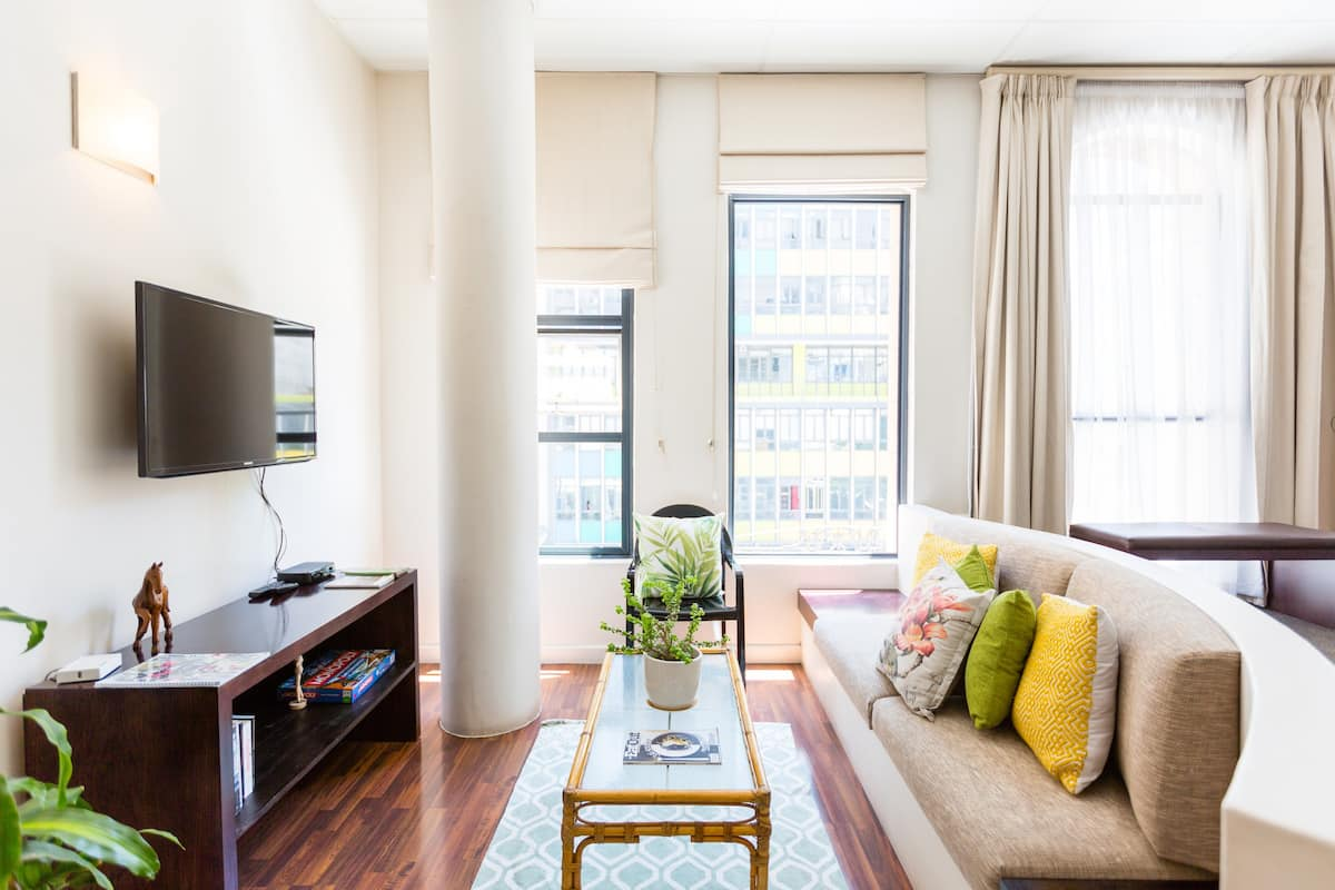 Explore the City Centre from Light, Spacious Apartment
