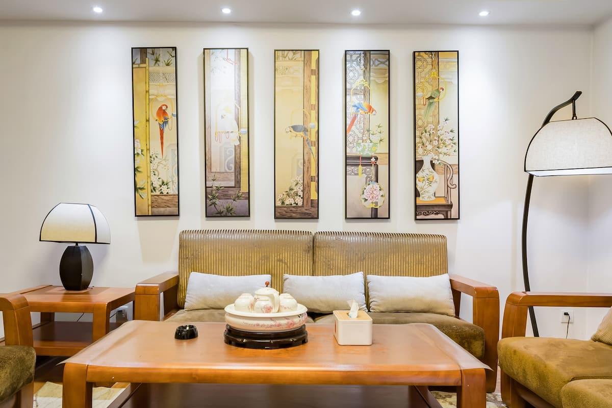 下榻富有文化气息的三居室,来感受三秦大地的风土民情