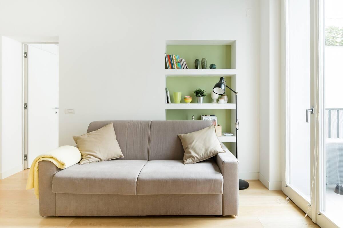 Appartamento accogliente, silenzioso, nuovo, arredato con gusto in Buonarroti