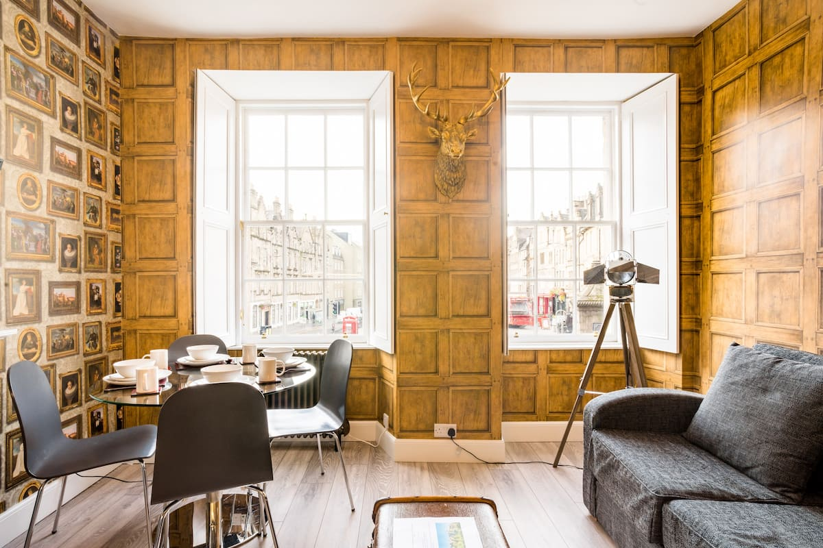 Magical Harry Potter-Inspired Flat near Edinburgh Castle