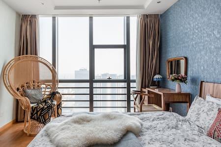 [Bosporus]近火车站/万达广场/观前街/平江路/拙政园独立设计公寓 cozy studio