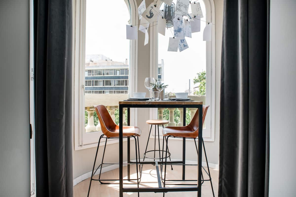 Stylish Studio with Magnificent View Las Ramblas
