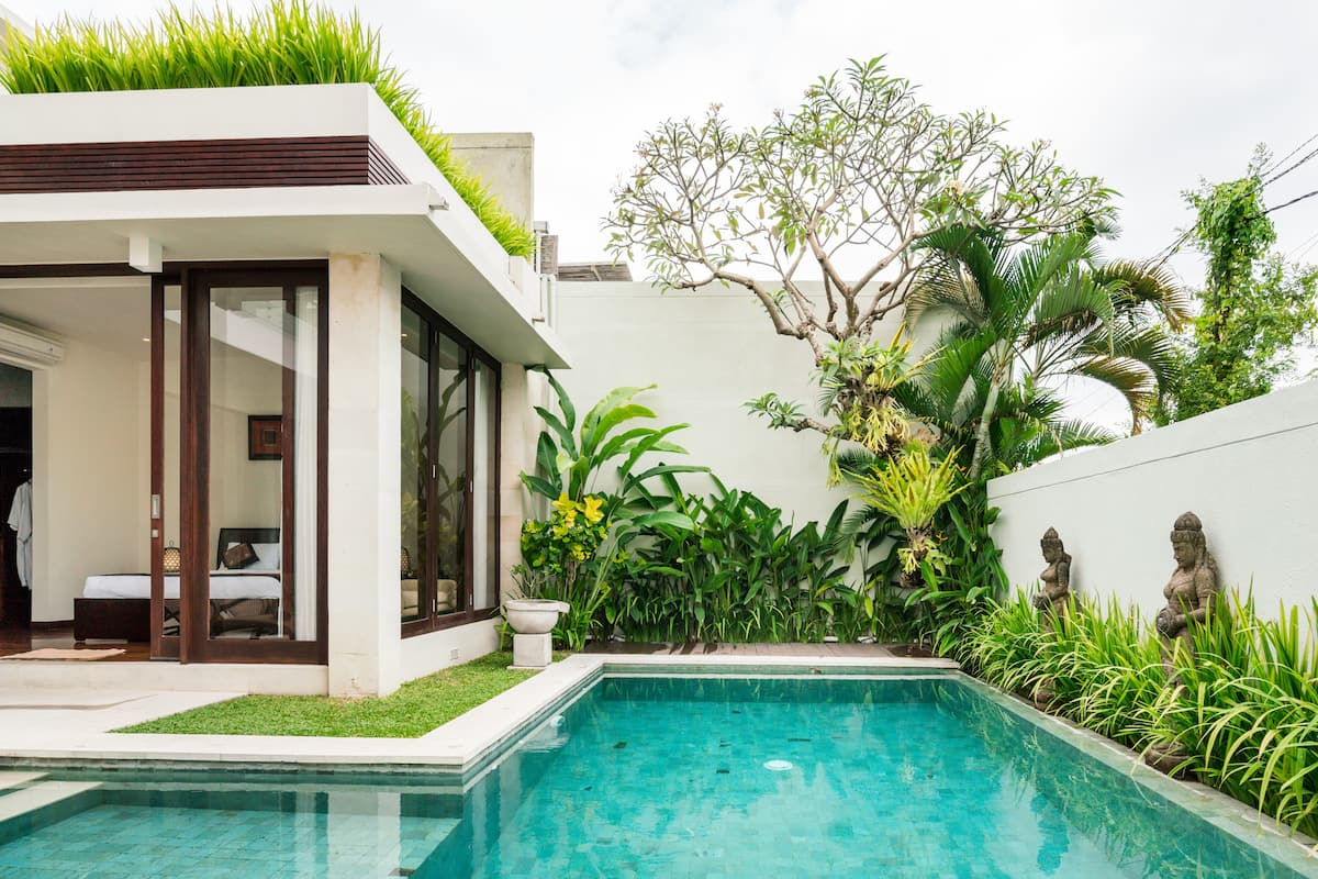Soak Up the Tranquillity at a Two-Story Paradise Villa