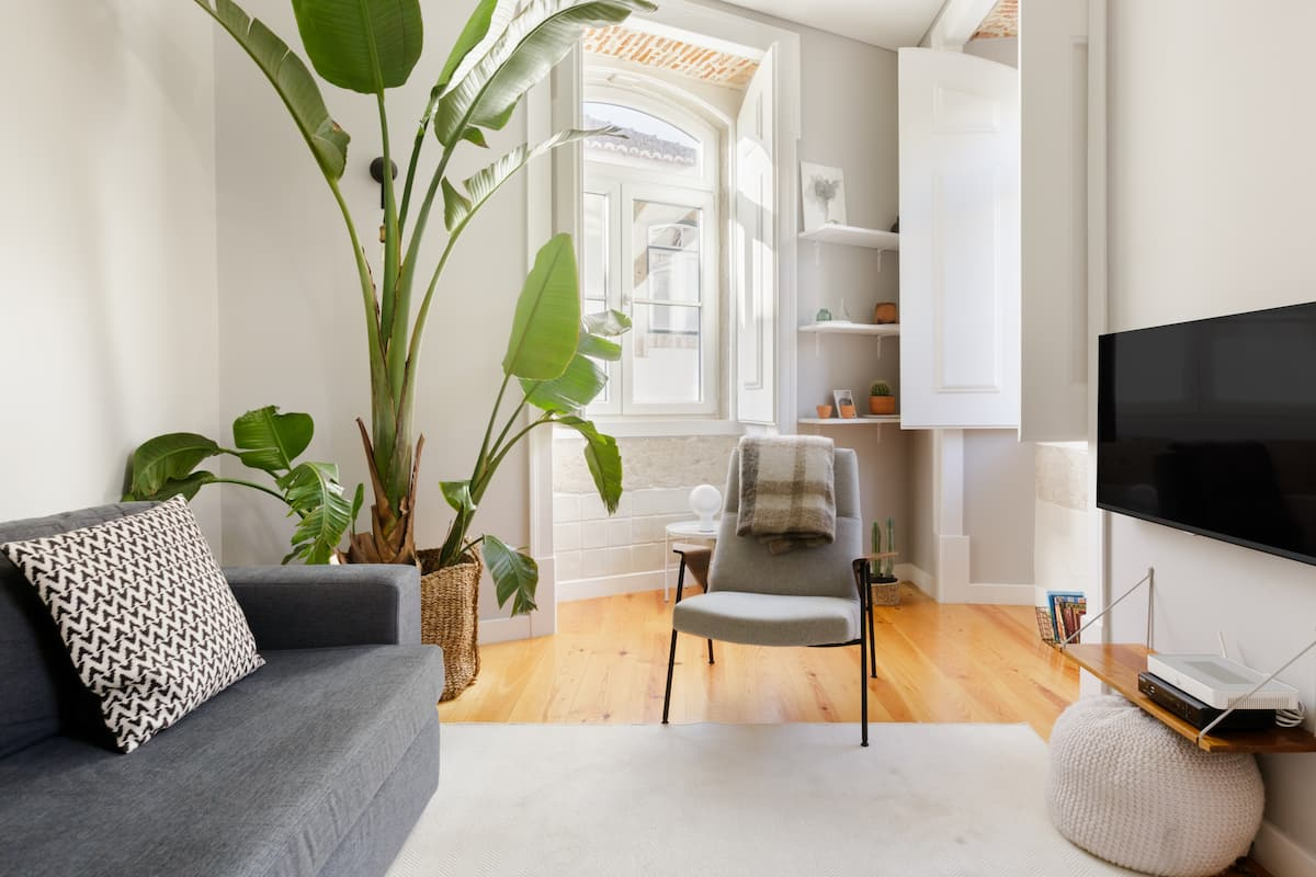 Updated Urban Chic Flat in 19th Century Building