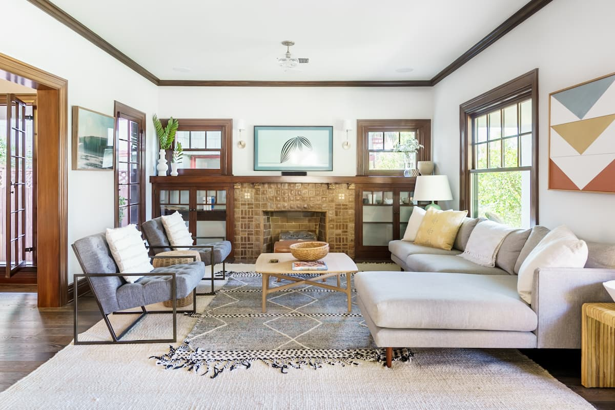 Sun-Kissed Pristine 1922 Spanish Colonial Statement Home