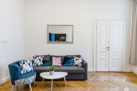 Elegant Two Bedroom Apartment near Wenceslas Square